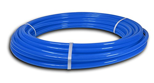 - Pexflow PFW-B12100 PEX Potable Water Tubing Non-Barrier Pipe, 1/2 Inch x 100 Feet, Blue