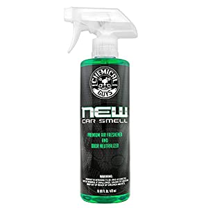 Chemical Guys AIR_101_16 New Car Smell Premium Air Freshener and Odor Eliminator (16 oz)