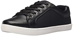 Call It Spring Women's Galaewia Fashion Sneaker, Black NUBUCK, 11 B US