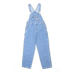 Revolt Women's Classic Bib Overalls – Olive, Khaki and Denim Blue Jean