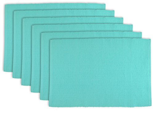 DII 100% Cotton, Ribbed 13x 19 Everyday Basic Placemat -  - placemats, kitchen-dining-room-table-linens, kitchen-dining-room - 41oil0apG8L -