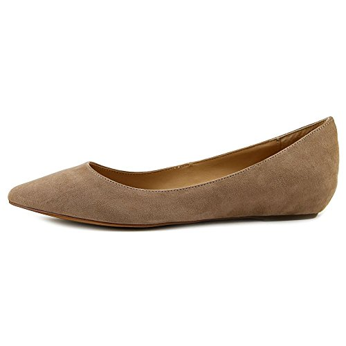 American Rag Emani Flat Pointed Toe Canvas Flats Mushroom Ei7tGW