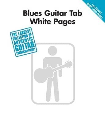 Blues Guitar Tab White Pages (English Edition) eBook: Hal Leonard ...