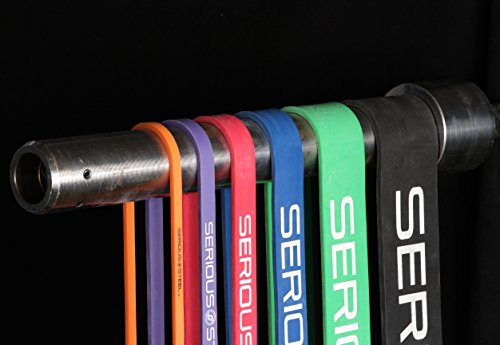 Serious Steel Fitness Complete Assisted Pull-up & Resistance Band/Crossfit Package#0, 1, 2, 3, 4, 5 Band Set (5-150 Lbs) FREE Pull-up and Band Starter e-Guide by Serious Steel Fitness (Image #9)