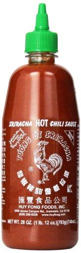 Huy Fong Sriracha Chili Sauce, 28 Ounce (Pack of 6)