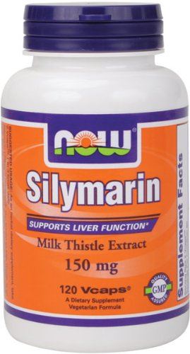 NOW Foods La silymarine / 150 mg Chardon-Marie, 120 Vcaps