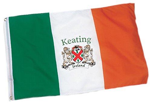 Keating Irish Coat of Arms Flag - 3'x5' Foot
