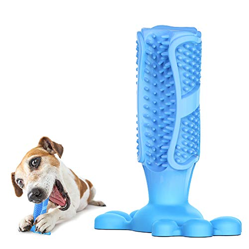 Megawa Dog Toothbrush Chew Toy [Upgrade Version] Dental Care Dog Toothbrush Stick Safe Nontoxic Food Grade Plastic Bite…