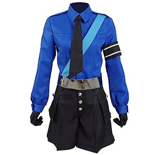 Womens Anime Personae 5 Carolines Justines Uniform Cosplay Halloween Costumes