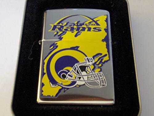 Zippo St. Louis Rams National Football League High Polish Chrome Lighter by Zippo