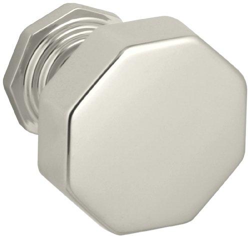 KOHLER K-13126-SN Pinstripe Knob, Vibrant Polished Nickel (Kohler Knobs)