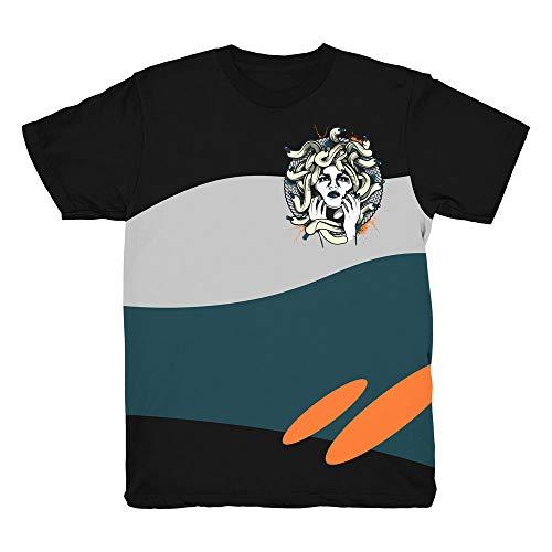 23ce664fd Yeezy 700 Wave Runner Medusa Black Shirt to Match Yeezy 700 Wave Runner  Sneakers