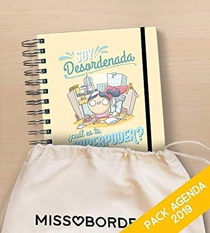 Missborderlike - Agenda Anual 2019 Dia vista + saco - Desordenada