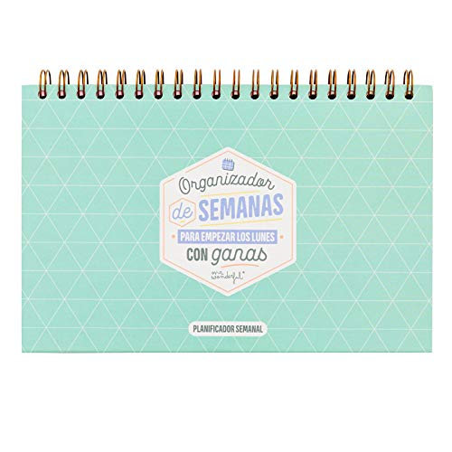 Amazon.com: Mr. Wonderful Weekly Planner to Start Monday ...