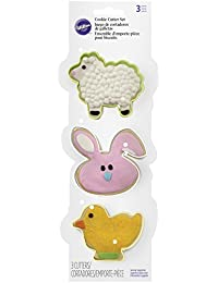 PickUp 2308-4456 Wilton 3-Piece Easter Cookie Cutter Set deliver