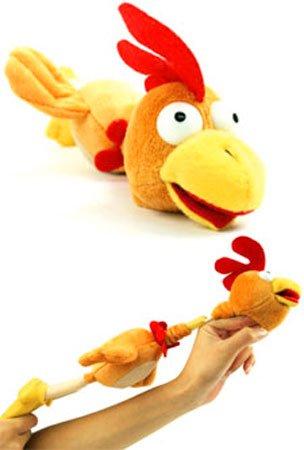 Farmyard Flingshot Flyers Flying Squawking Chicken