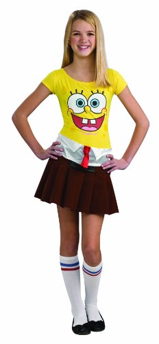 Rubie's Spongebob Costume, Teen Sponge (Spongebob Woman Costume)