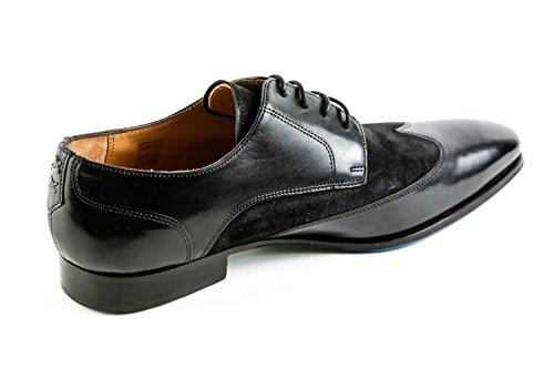 Hamilton Noir amp; Homme à Lacets Ville de Chaussures 1239 Noir MH15 pour Melvin PHq5q