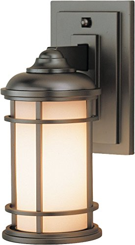 Feiss OL2200BB Lighthouse Outdoor Patio Lighting Wall Lantern, Bronze, 1-Light (5