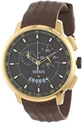 Versus by Versace Men's SGV060013 Manhattan Gold Ion-Plated Stainless Steel Chronograph Tachymeter Date Watch