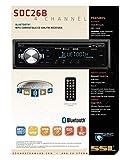 Sound Storm Laboratories SDC26B Car Stereo - Single