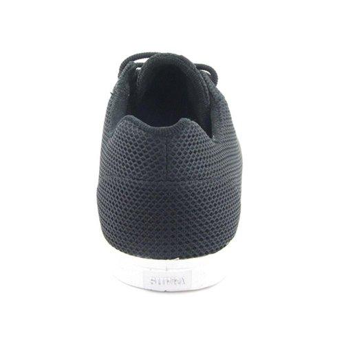 Supra SUPRA Assault Black Full Grain, Herren Sneaker  Schwarz Black Full Grain