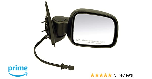 Foldaway For Jeep Liberty 02-07 TYC Passenger Side Power View Mirror Non-Heated