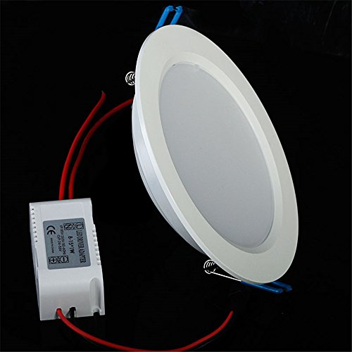 Led Outdoor Light Too Bright: Lvjing Brand New 6000k Recessed Round Ceiling Panel Down