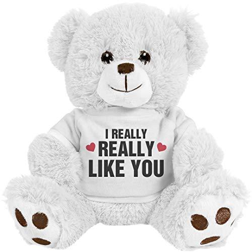 Mine Teddy Bear - Customized Girl Really Like: 8 Inch Teddy Bear Stuffed Animal