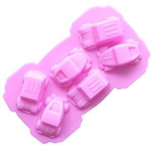 Stampo in Silicone Set di 6 Cività Stampi Muffin 3D Macchina per Dolci, Cottura, Mini Torta, Cupcake, Cioccolato… 1 spesavip