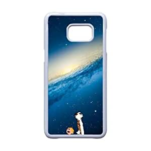 Generic for Samsung Galaxy S5 Edge Cell Phone Case White Calvin And Hobbes Custom 2706