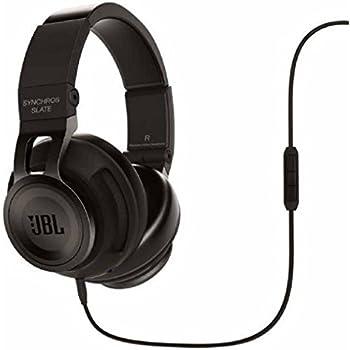 4e4aa353b8f Amazon.com: JBL Synchros Slate Powered Over-Ear Stereo Headphones ...