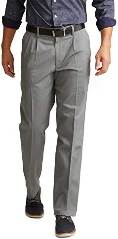 Dockers Men's Classic Fit Signature Khaki Lux Cotton Stretch Pants - Pleated