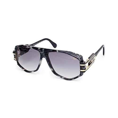 Cazal 163/3 Sunglasses 163 BEASTIN Legend Black Marble Gold (090) Authentic New (Cazal 163)