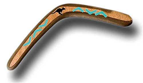 Left Hand M17 Australian Wooden Boomerang by Stones Throw