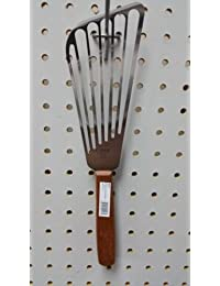 Get New Stainless Steel Fish Spatula / Turner with Wood Handle - Winco Fst-6 lowestprice