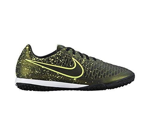 Nike Magista Ola Tf, Scarpe Da Calcio Del Mens Giallo / Nero / Verde (scuro Citron / Drk Citron-blk-vlt)