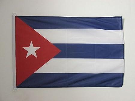 AZ FLAG Bandera Nautica de Cuba 45x30cm - Pabellón de conveniencia ...