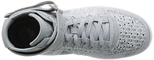 Nike - Zapatillas de Material Sintético para hombre * Blanco-Gris