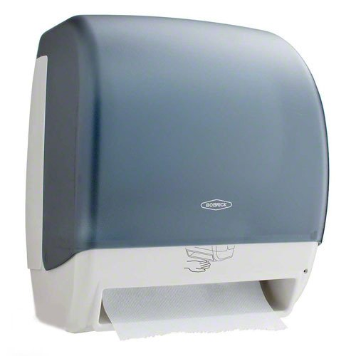 (Bobrick 72974 Plastic Universal Surface Mounted Roll Towel Dispenser, 12-3/8