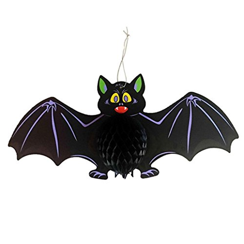 Aitena Funny Scary Bat Spider Halloween Decorations (Grayscale Costume Hair)