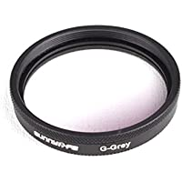 Drone Fans 1pc Sunnylife Lens Filter Graduated Filter Graduated Grey X3 Filter for DJI OSMO Inspire 1 and OSMO Plus