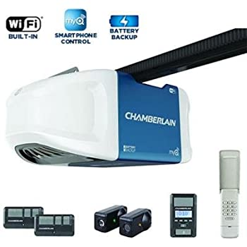 Chamberlain Wd832kev Garage Door Opener 189 Hp Ultra Quiet