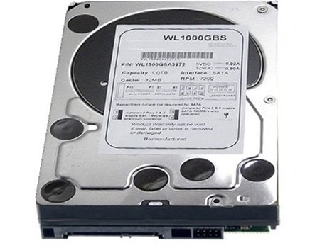 (White Label 1TB 32MB Cache 7200RPM SATA300 Hard Drive - w/ 1 yr warranty)