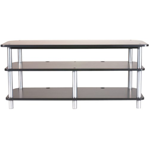 Sanus 3 Shelf Tv Stand (SANUS AFV48B Accurate Furniture Series 3-Shelf A/V Stand electronic)