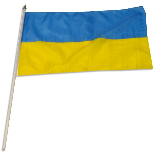 US Flag Store Ukraine Flag, 12 by 18-Inch