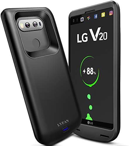 NEWDERY LG V20 Funda de batería, 5000 mAh con Puerto Tipo C ...