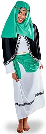 Yuppiyei Disfraz de Hebrea Verde