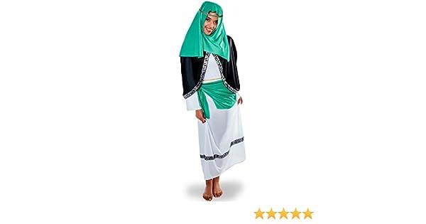 Disfraz de Hebrea verde: Amazon.es: Juguetes y juegos