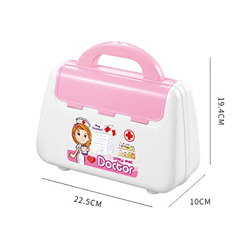 Doctor Pretend Medical Set Case Educational Role Play Toy Gift for Kid ()